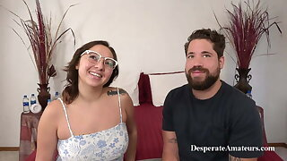MILF Mia with big tits and Dave at a Casting, Desperate Amateurs