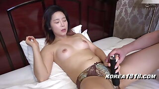 Korean porn model gets boned by ugly Japanese guy