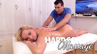 Hardcore Massage - Smallish Blonde With Big Ass Gets Sex Massage