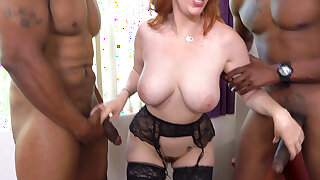 Chesty Cougar Lauren Phillips Is Hungry For Anal Hookup With BBC