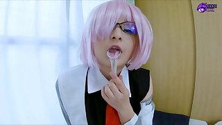 Mashu Kyrielight Fate cosplay sex