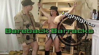 Boot Camp Army Discipline of Mature Babe