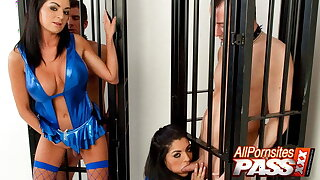 Caged Men And Naughty Nurse, Sexy Science Experiment Two, Babe