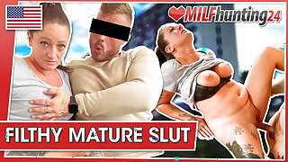 Adrienne Kiss gets smashed by the MILF Hunter! milfhunting24