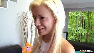 Booty Humping Of Steamy Platinum-blonde Hair Babe - Bibi Noel