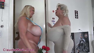 Kayla Kleevage Cheats With Claudia Marie And Mr. Marie