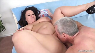 Jeffs Models - Meaty BBW Pussy for Dinner Compilation