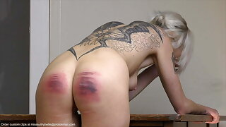 Caning and whipping.