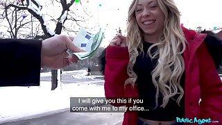 Sexually attractive babe Jennifer Amilton fucks for money