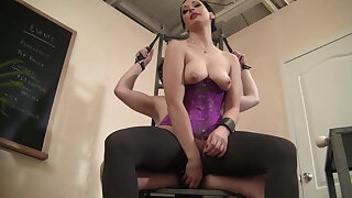 Female dominance Masturbation Teasing Sub Torture!