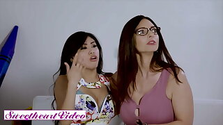 Ember Snow & Mindi Minks – Bodies Collide With Lust Hunger