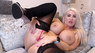 He controls my toys and my orgasms Live - Sophie James