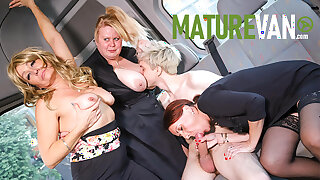 Cougars Wanna Fuck Me in the MatureVan