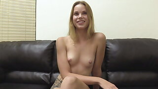 Ridiculously Adorable 19 Yr Old Blonde Candace Butt Fucked
