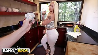 BANGBROS - Big Donk Maid Alexis Andrews Cleans House and Fucks Tony Rubino