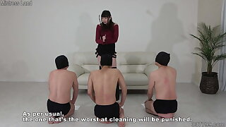 Chinese Mistress Akane and Her Multiple Servants