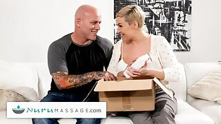 NuruMassage – Ryan Keely Is Down To Try New Messy Things