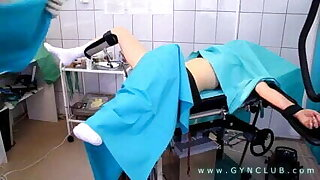 Lustful doctor performs gyno exam