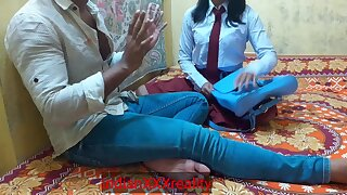 Indian Ever Greatest College Girl Without Mood Deeply Bang, In Clear Hindi Voice - Indian