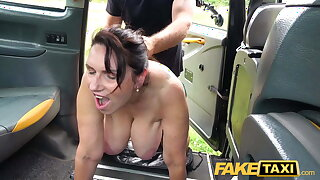 Fake Taxi Hot mature massive tits Mummy Josephine James fucks