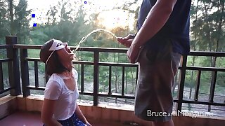 Bruce and Morgan - Public Piss Drinking Compilation