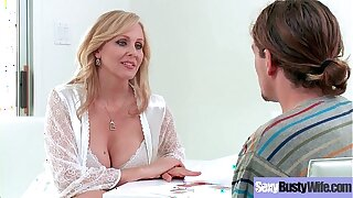 Big Tits Slut Housewife (Julia Ann) Like Hard Style Intercorse movie-18