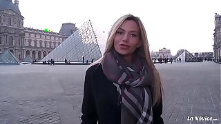 LA NOVICE - Big-boobed Russian blondie Subil Arch gets pounded firm by French cock