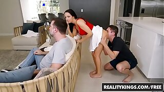 Reality Kings - Sneaky Sex - No Fucking Around - (Sofi Ryan, Brad Knight)