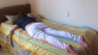 Teen sista fucked while sleeping