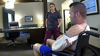 Nurse Mummy Mom Soothes Injured Son Part 1