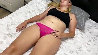 Perverted uncle fucks her virgin niece while sleeping