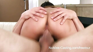 Nubiles Casting - Squirting chinese nubile really wants this job