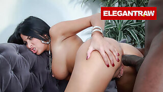 Nymphomaniac Anissa Kate Challenged by a BBC