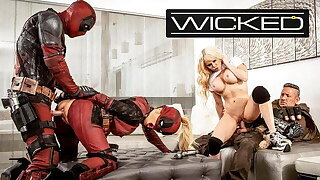 Wicked - Deadpool Finally Pulverizes In His Porn Parody