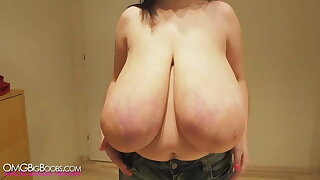 Largest all natural boobs, no silicone
